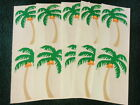 Vintage Grossman Stickers 5 Sheets of Palm Trees 1989