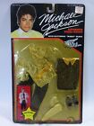 Vintage 1984 Michael Jackson Authentic Stage Outfit Motown by LJN SEALED CARD