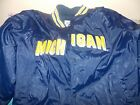 Michigan Wolverines Adult Steve  Barrys Blue Jacket Size XL