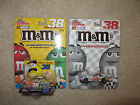 Lot of 2 Elliott Sadler 2004 M&M's Diecast Cars 1:64 scale