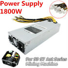 1800W Platinum Antminer Mining Power Supply For Ant Series Mining Machine S9 S7