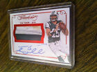 TIM TEBOW 2015 FLAWLESS RED PRIME DIRTY DUAL AUTO AUTOGRAPH JERSEY 15! GATORS!!