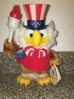 Vintage SAM The Olympic Eagle 8332 Plush Collectible Applause 1984 Mascot 95T