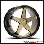 BLAQUE DIAMOND 20 BD21 BRONZE BLK CONCAVE WHEELS RIMS FITS ACURA RL RLX