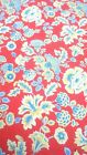 100% Cotton Beautiful Vintage Fabric Tailoring Upholstery Curtain's Crafts New