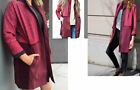 Lululemon COCOON CAR COAT Rust Berry Flaming Tomato XS S M Long Loose Fit NWT
