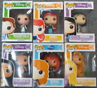 Lot of 6 Funko POP! Disney Figures (Ariel Mulan Merida Rapunzel Pocahontas ++)