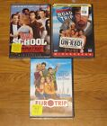 DVDs Old School Road Trip Euro Trip NEW SEALED