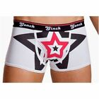 NEW MENS BOYS GINCH GONCH BIG BLACK BANG FLY FRONT SPORT BRIEF SMALL 28/32 WAIST