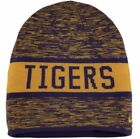 NIKE Louisiana St LSU Tigers Purple Gold Reversible Knit Beanie Cap NEW Mens O/S