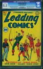Leading Comics #1 High Grade 1st Green Arrow Cover & 2nd App. CGC 8.5 DC 1941