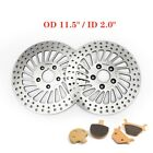 Front Rear Brake Discs Rotors + Pads for Softail FLST FXST Dyna 1340 FXDB 84-99