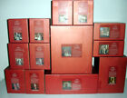 Lenox Little Town Of Bethlehem Complete 15 Piece Nativity Figurine Set New Boxed