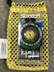 Swatch SCUBA ACCESS SHB101 Goodwill Games New York 98 Special New 1998