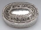 Lovely Mid-Late 1800's Antique Asian 900 Silver Box