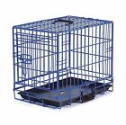 ProSelect Crate Appeal Fashion Color Dog Crates for Dogs and Pets Blue L