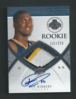 2008-09 Exquisite Collection Rookie 3clr RC Patch Auto #70 Roy Hibbert RPA 225