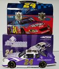 Jeff Gordon Foundation Action 1/24 Diecast Car plus a Metal Lunch Box
