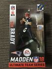 MCFARLANE NFL MADDEN 18 TOM BRADY COLOR RUSH SURPRISE CHASE FIGURE BLUE VARIANT