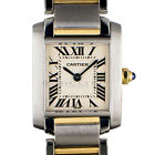 Cartier 2384 Tank Francaise Stainless Steel & 18kt Yellow Gold Quartz Ladies