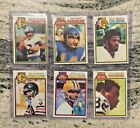 1979 TOPPS FOOTBALL COMPLETE SET 528 LOFTON STAUBACH CAMPBELL NEWSOME PAYTON