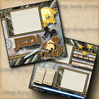 DISNEY JEDI IN TRAINING STAR WARS 2 premade scrapbook pages paper DIGISCRAP