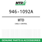OEM MTD Wizard, Yard Machines, Husky CABLE-CONTROL Part# 946-1092A
