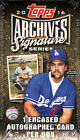 2016 TOPPS ARCHIVES SIGNATURE SERIES BASEBALL HOBBY BOX FACTORY SEALED NEW