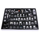 XD#3 52 PCS Domestic Sewing Machine Foot Feet Snap On For Brother Singer Set
