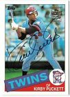 KIRBY PUCKETT 2001 TOPPS ARCHIVES AUTO AUTOGRAPH CARD SSP!