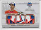 2014 TOPPS TRIPLE THREADS JOEY VOTTO TRIPLE MLB ALL-STAR SUPER LOGO PATCH SP 3 9
