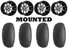 Kit 4 GBC Kanati Terra Master 27x9-14/27x10-14 on Sedona Storm Machined IRS