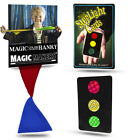 Magic Makers Color Changing Hanky  Stop Light Cards Easy Magic Tricks