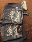 Brand New Miss Me Jeans Size 26 JP5002B49 Color Vtg 10d BOOT CUT NWT