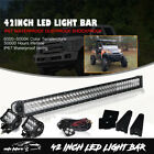 42 Arctic Cat Alterra 400 450 For LED Light Bar Honda Pioneer Can Am SxS Ford