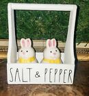 Rae Dunn inspired farmhouse Salt and Pepper shakers and Holder
