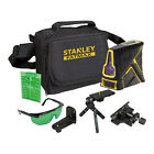 Stanley Fat Max Green Beam X Line Laser Level Measuring Tools Levelling