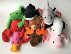 Ty 2005 Beanie Baby (BBOC Exclusive) Set Original 9 Spot Cubbie Patti Legs Flash