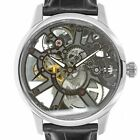 Maurice LaCroix MP7228 Masterpiece Squelette Skeleton Dial Manual Wind Watch