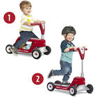 Radio Flyer Scoot 2 Scooter Ride On Red Toy Replacement Front Handle Prts Axle