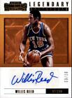 2017-18 Panini Contenders Legendary Autograph Gold Willis Reed AUTO 9 10