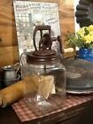 PRIMITIVE 20 DAZEY BUTTER CHURN REPRODUCTION VINTAGE LOOK STYLE HOME DECOR