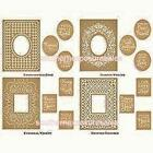 Anna Griffin Cuttlebug Mix  Match Embroidered Frames Embossing Folders Sentime