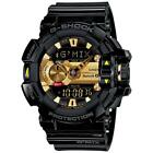 G-Shock Men'S GBA400-1A9 G'Mix Rotary Switch Ble Watch, Black/Gold, One Size
