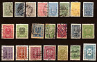 AUSTRIA 22 stamps new and obliterated ancient 1916/22 188T2