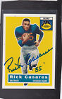 *RICK CASERES* 2001 Topps Archives Hand-Signed Auto CHICAGO BEARS *Dec 2013*