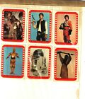 1977 Topps Star Wars Sticker Card Set OF 11 Series4 Green Very Good TO Excellent