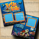 DISNEY TURTLE TALK WITH CRUSH 2 premade scrapbook pages paper piecing DIGISCRAP