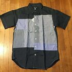 Rough  Tumble by Nepenthes Navy Patchwork Shirt Engineered Garments cdg