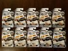 Hot Wheels 2018 50th Anniversary ZAMAC Flames 67 Ford Mustang Coupe Lot of 10